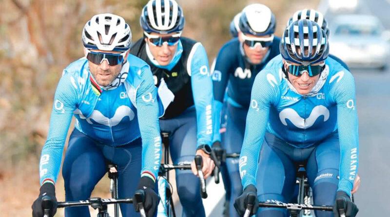 Movistar confía en Mas y 'Supermán' López para el Tour, Valverde apunta a Tokio