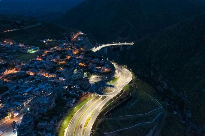 Gobierno Nacional pone al servicio 23,11 kilómetros de doble calzada en vía Rumichaca-Pasto